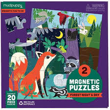 Forest Night and Day - Magnetic Puzzles