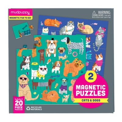 Cats and Dogs - Magnetic Puzzle