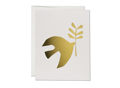 Card - Peace dove with branch BLA1597