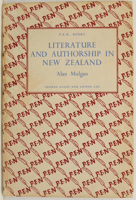 Literature and Authorship in New Zealand