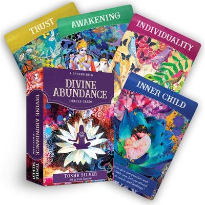 Divine Abundance Oracle Cards - A 52-Card Deck