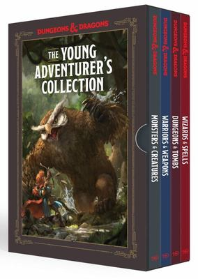 The Young Adventurer's Collection [Dungeons and Dragons 4-Book Boxed Set] - Monsters and Creatures, Warriors and Weapons, Dungeons and Tombs, and Wizards and Spells
