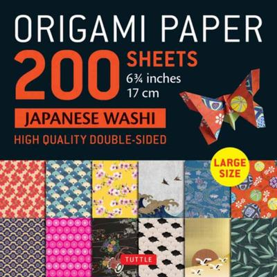 Origami Paper 200 Sheets Japanese Washi Patterns 6. 75 - Tuttle Origami Paper: High-Quality Double Sided Origami Sheets Printed with 12 Different Patterns (Instructions for 6 Projects Included)