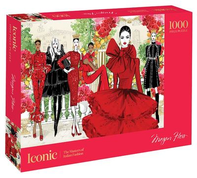 Iconic: 1000 Piece Jigsaw Puzzle - The Masters of Italian Fashion