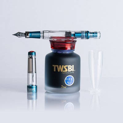 TWSBI Diamond Prussian Blue F Fountain Pen