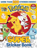 Pokemon: Super Sticker Book