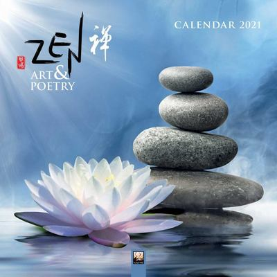 Zen Art and Poetry Wall Calendar 2021 (Art Calendar)