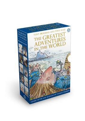 The Greatest Adventures in the World 10 Copy Slipcase - the Book People