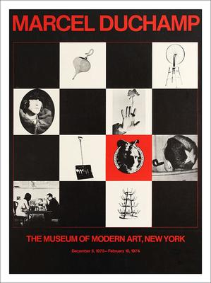 Marcel Duchamp Art Exhibition New York Print