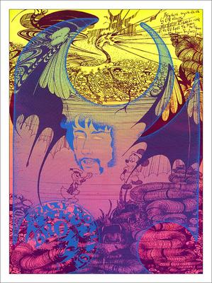 Crazy World Or Arthur Brown Psychedelic Poster Print
