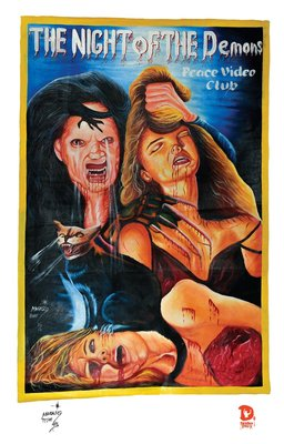 Night of The Demons Ghana Movie Poster Print