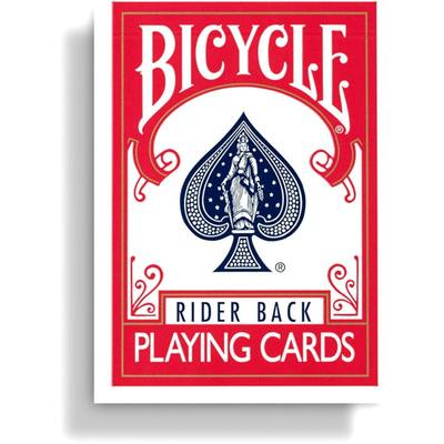 Bicycle Rider Back Playing Cards (Red)