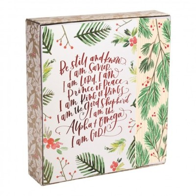 GC: 2020 Christmas Boxed Be Still And Know I Am