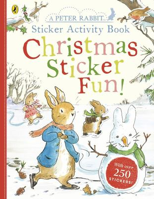 Peter Rabbit Christmas Fun Sticker Activity Book
