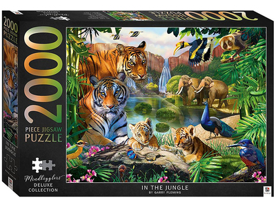 Mindbogglers Artisan: In The Jungle 2000 Piece Jigsaw Puzzle