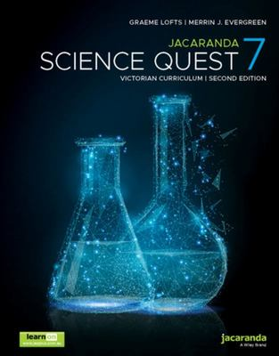Jacaranda Science Quest 7 for the Victorian Curriculum 2e LearnON and Print
