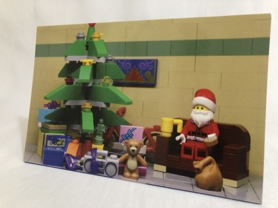 Card – BrickNetty LEGO Christmas A
