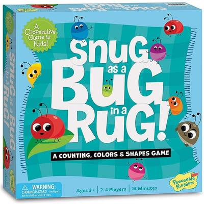 Snug as a Bug in a Rug! A Counting, Colours & Shapes Game