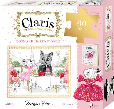 Claris Book & 60 Piece Puzzle Set