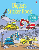 Diggers (Usborne First Sticker Book)
