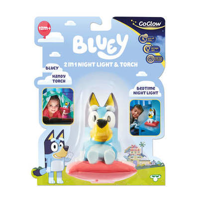 Bluey Night Light and Torch Bluey