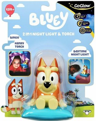 Bluey Night Light and Torch Bingo