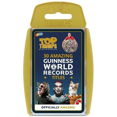 Top Trumps: 30 Amazing Guinness World Records