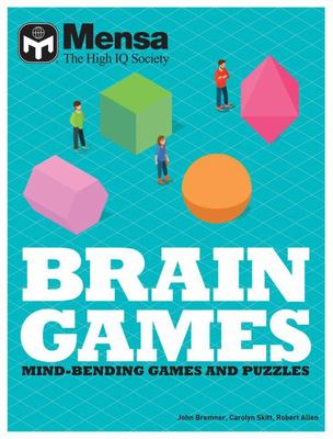 Mensa Brain Games Pack - Mind-Bending Games and Puzzles to Challenge Yourself