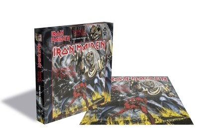 Iron Maiden - Number Of The Beast 1,000 piece jigsaw