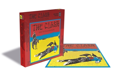 The Clash - Give Em Enough Rope 500 piece jigsaw