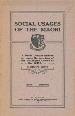 Social Usages of the Maori