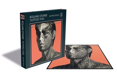 The Rolling Stones - Tattoo You 500 piece jigsaw puzzle