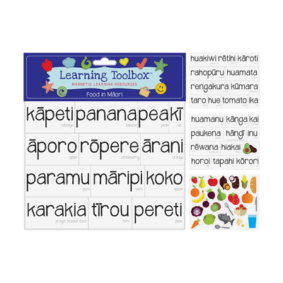 Kai / Food in Māori (Magnetic Learning Resources)
