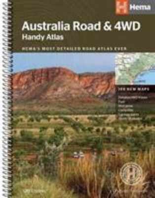 Australia Road & 4WD Handy Atlas 12E