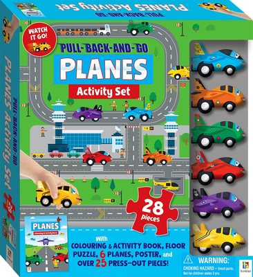Planes: Pull-Back-and-Go Activity Set