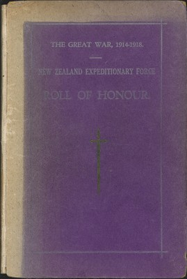 New Zealand Expeditionary Force Roll of Honour