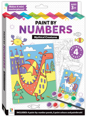 Mythical Creatures: Paint by Numbers