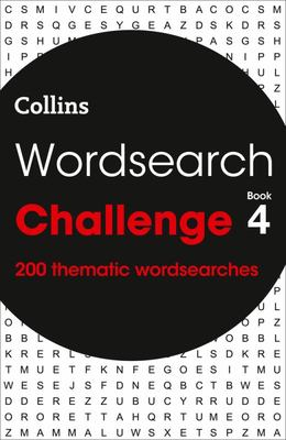 Wordsearch Challenge Book 4: 200 Themed Wordsearch Puzzles