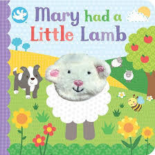 Mary Had A Little Lamb (Finger Puppet Book)