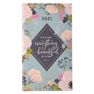 2021 Small Daily Planner Everything Beautiful