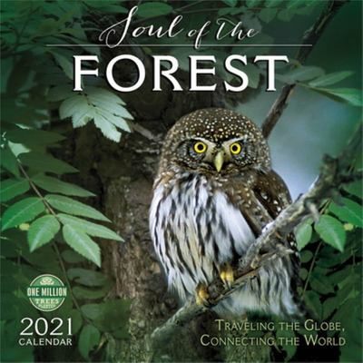 2021 the Soul of the Forest Wall Calendar - Traveling the Globe, Connecting the World
