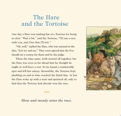 Aesop's Fables - Classic Edition (Board Book)