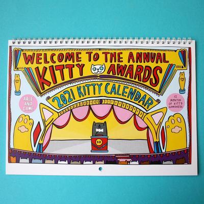 Kitty Calendar 2021