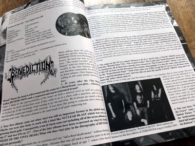 "Seven Metal Inches (revised) - 40 Years of Picture 7""s in Extreme Metal"