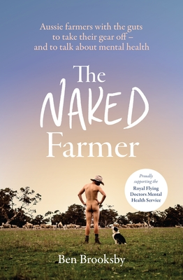 Large naked farmer