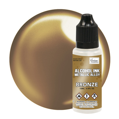 Bronze Metallic Alcohol Ink - 12ml CO727880