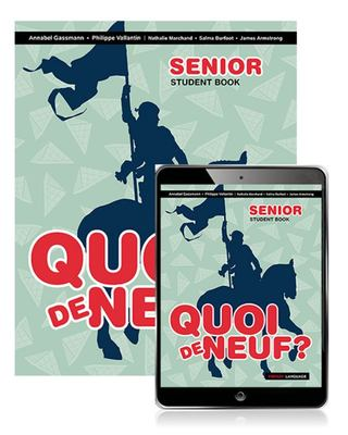 Quoi de Neuf ? Senior Book with EBook (2nd Edition)