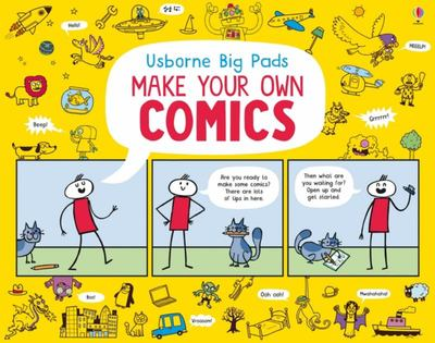 Make Your Own Comics (Usborne Big Pads)