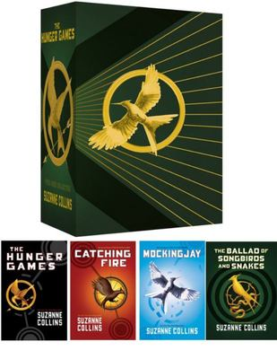 The Hunger Games 4 Book Box Set