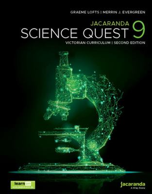 Jacaranda Science Quest 9 for the Victorian Curriculum 2nd Edition LearnON and Print